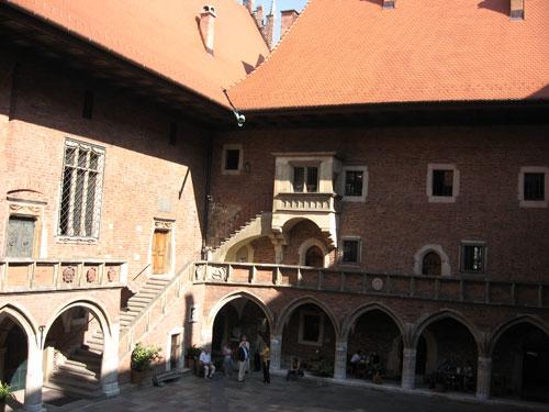 Collegium-Maius-Arkadenhof