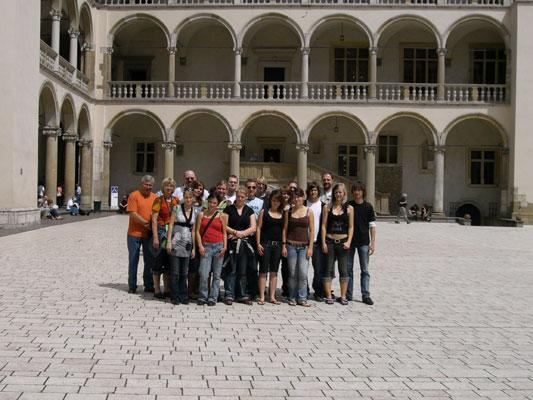 Innenhof-Wawel