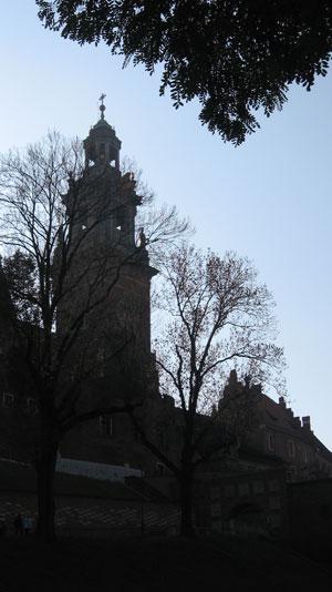 Kathedrale-Nacht