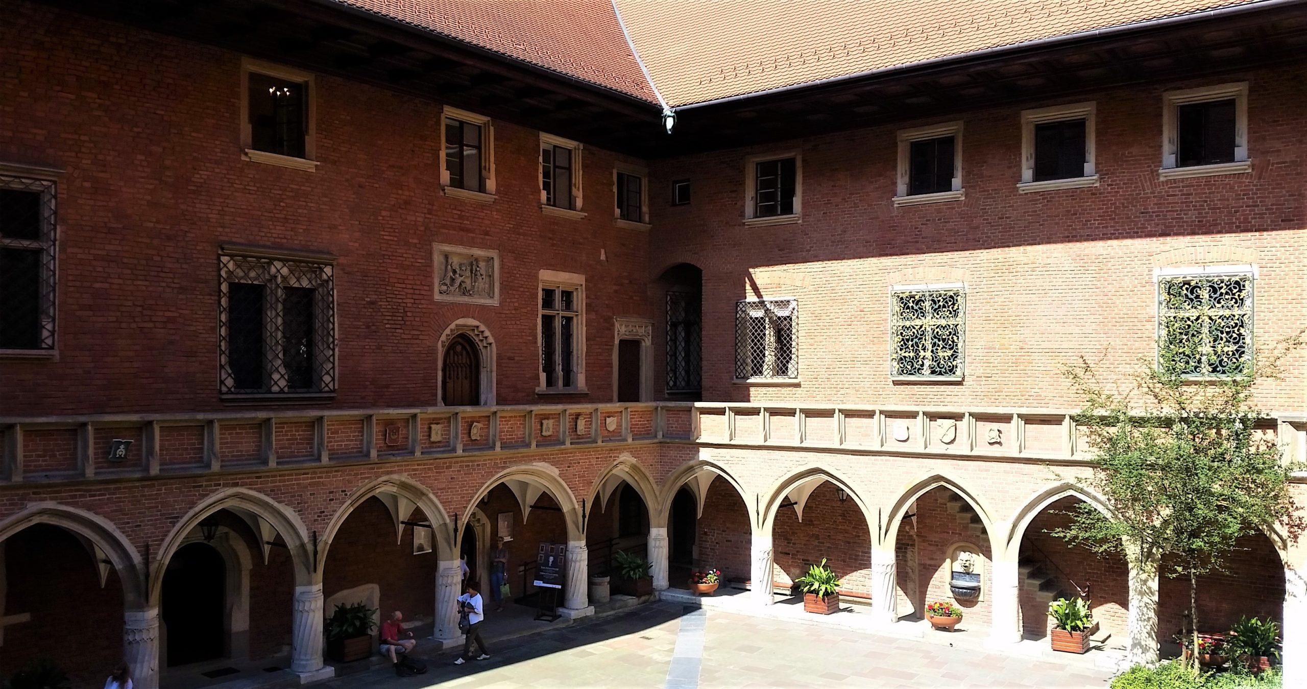 Collegium Maius Innenhof